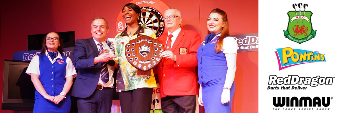 Deta Hedman 2018 Welsh Open Ladies Champion