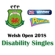 Welsh Open BDDA Disability Singles